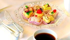 美食的甜点 库存图片