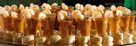 美食的虾 免版税库存图片
