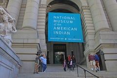 美洲印第安人博物馆国民 免版税库存照片