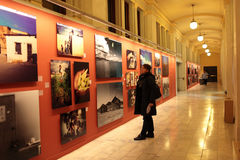 美洲印第安人博物馆妇女 免版税库存图片