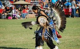 美洲印第安人战俘Wow 库存图片