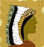印第安语 皇族释放例证