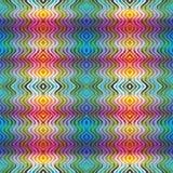 美洲印第安人纺织品样式 免版税库存图片