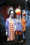 美洲印第安人衣物 免版税库存照片
