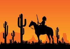 美洲印第安人领导先锋 免版税库存图片