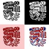 美洲印第安人鹦鹉 免版税库存照片