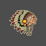 美洲印第安人 免版税库存图片