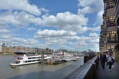 美洲河鲱泰晤士伦敦-英国英国 免版税图库摄影