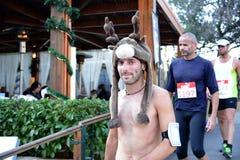 美洲狮事件跑湖-雅典,希腊 免版税图库摄影