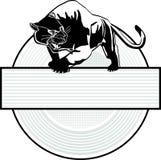 美洲狮符号 库存图片