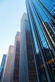 美洲的大道的摩天大楼在曼哈顿, NYC 库存照片