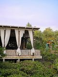 美洲红树的小屋 库存照片