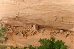 羚羊之家, Canyon de Chelly国家历史文物 库存照片