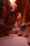 羚羊亚利桑那峡谷槽 免版税库存图片