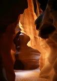 羚羊亚利桑那峡谷 免版税库存图片