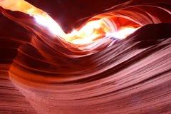 羚羊亚利桑那峡谷 免版税库存照片