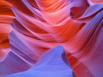羚羊亚利桑那峡谷 库存照片