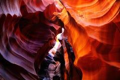 羚羊亚利桑那峡谷 免版税图库摄影