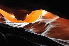 羚羊在页s附近的亚利桑那峡谷 库存图片