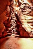 羚羊峡谷亚利桑那纳瓦霍族保留地亚利桑那 库存图片