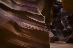 羚羊峡谷屏障 免版税图库摄影