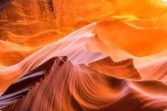 羚羊峡谷山 库存图片