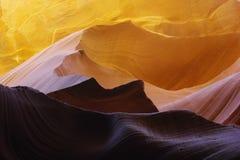 羚羊峡谷岩石 免版税库存照片