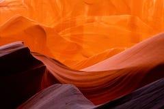 羚羊峡谷峡谷槽 免版税库存照片