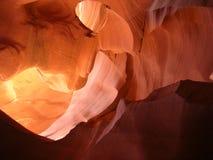 羚羊峡谷形成岩石 免版税库存照片