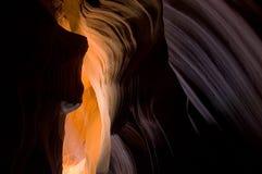 羚羊峡谷较大 图库摄影