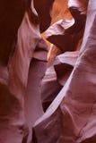 羚羊峡谷降低 免版税图库摄影