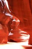羚羊峡谷页 免版税库存图片