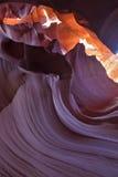 羚羊峡谷魔术 库存图片