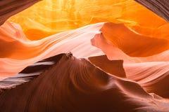 羚羊峡谷,亚利桑那,美国,湖鲍威尔 库存照片