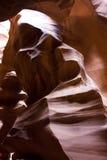 羚羊峡谷,砂岩侵蚀:妇女石 图库摄影