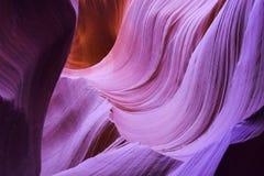 羚羊峡谷,页,亚利桑那 图库摄影