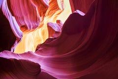 羚羊峡谷,页, 库存照片