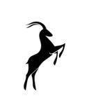 羚羊摘要2业务保险摘要 免版税库存照片