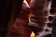 羚羊槽峡谷,亚利桑那,美国 图库摄影