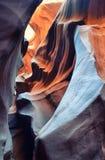羚羊洞 arizonian 美国 库存图片