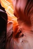羚羊az峡谷 免版税库存图片