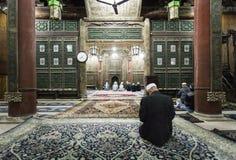 羡清真大寺的祷告大厅  图库摄影