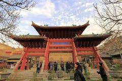 羡chenghuangmiao寺庙 库存图片