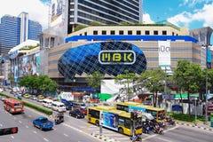 群侨商业中心,商城在曼谷 免版税图库摄影