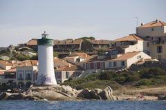 群岛la maddalena ・撒丁岛 免版税图库摄影