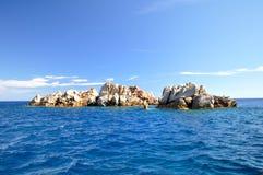 群岛la maddalena 图库摄影