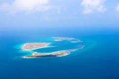 群岛Los Roques 免版税库存图片