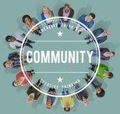 群落多样性社会人小组概念 免版税图库摄影