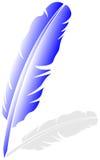 羽毛向量 向量例证