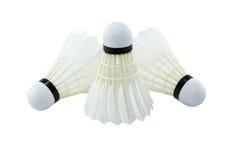 羽毛球。 库存图片